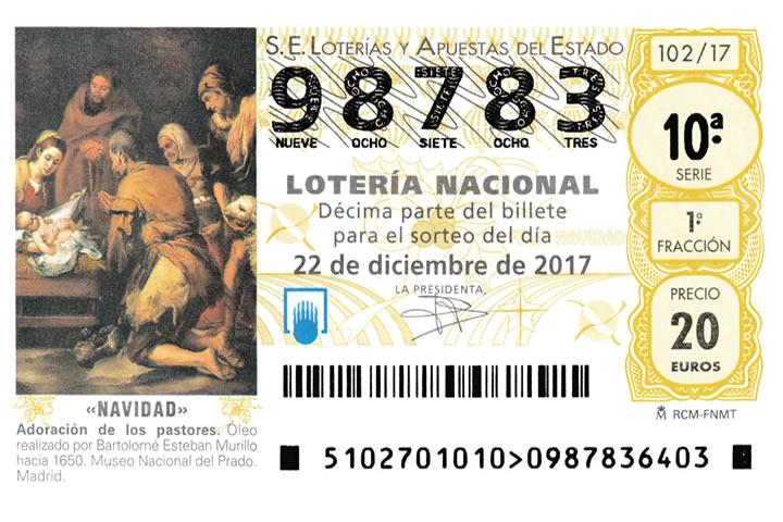 Loteria de Navidad 2017