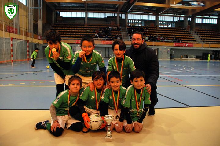 Torneo de Reyes de futsal en Sanse