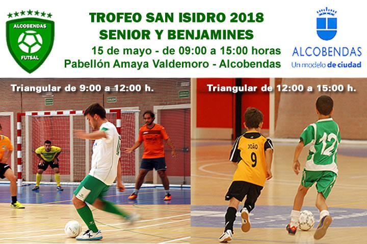 Torneo de Futbol Sala San Isidro 2018