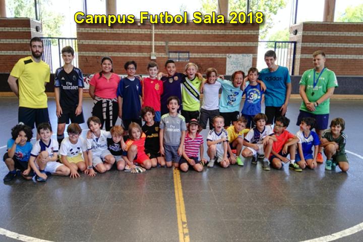 30 alumnos en el Campus de Futsal