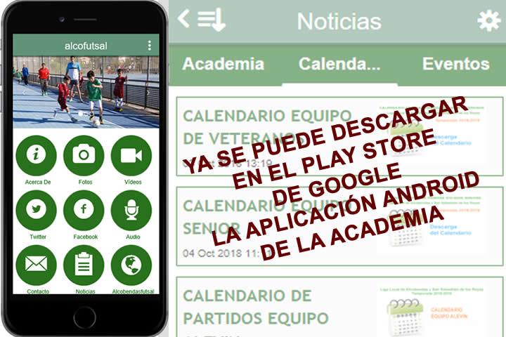 Anuncio de la Aplicacion Alcofutsal