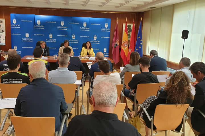 Presentada la Copa Iberica en Alcobendas