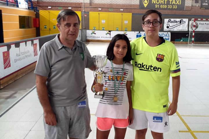 Greta ganadora Trofeo Campus 2019
