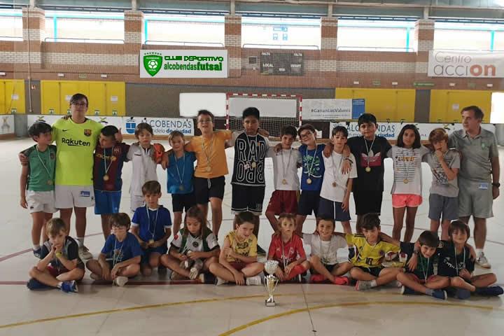 Final Campus Academia Alcobendas Futsal 2019