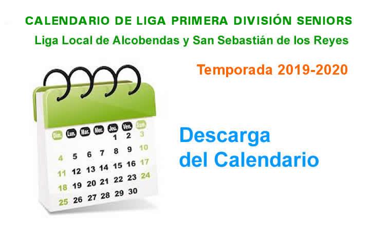 Calendario Senior 19-20