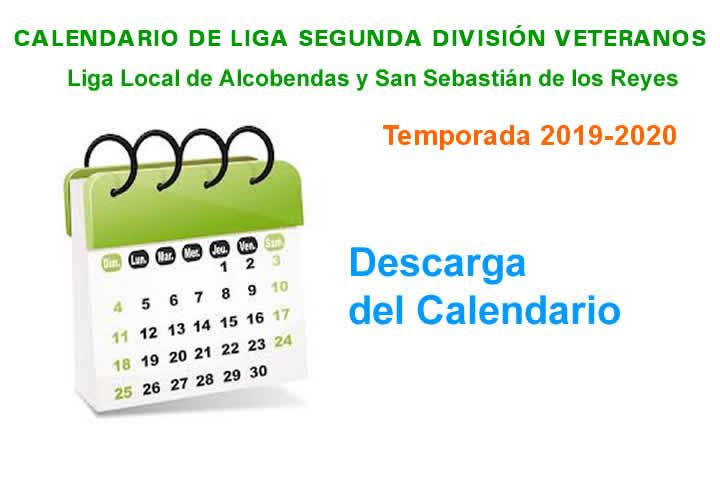 Calendario Veteranos 2019-2020