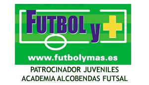 banner logo futbol y mas