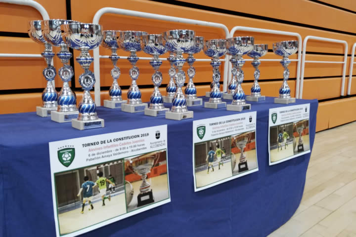 Trofeos Torneo Constitucion 2019