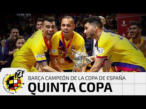 RESUMEN | El Barça toca el cielo con la conquista de su quinta Copa de España