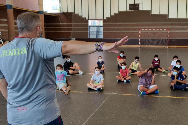 Clase Reglas Futsal en el Campus